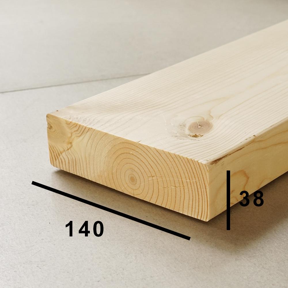 2x6(ツーバイシックス)木材の断面サイズ